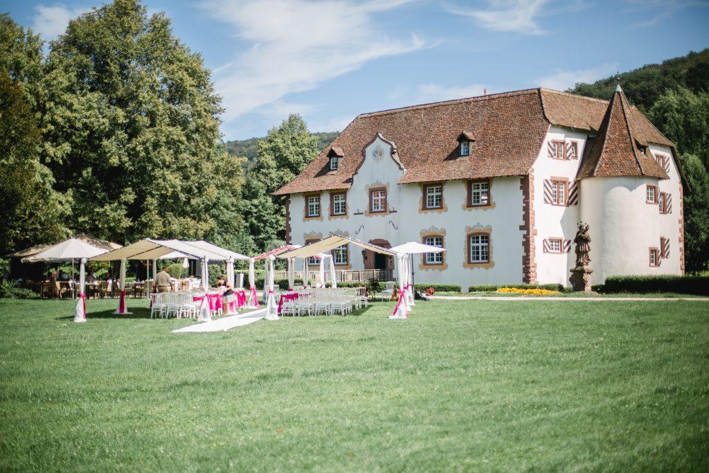 Wasserschloss Inzlingen | Hochzeit Lörrach