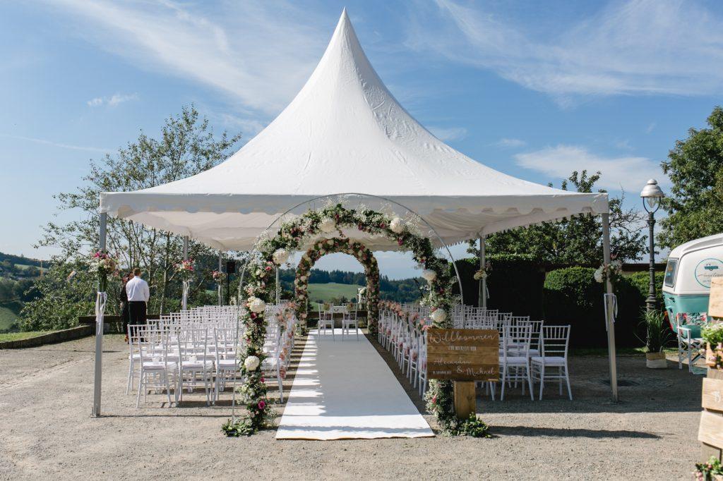Beck Zelte Reute Hochzeit im Zelt